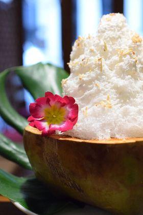 ココナッツかき氷