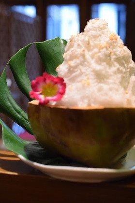 ココナッツかき氷のサムネイル画像