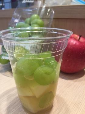 リンゴ&マスカットジュース
