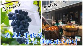 産直と果物屋の使い分け