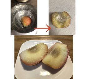 リンゴ丸ごとシャーベット